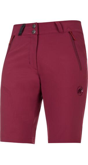 Mammut Runje Shorts Women merlot